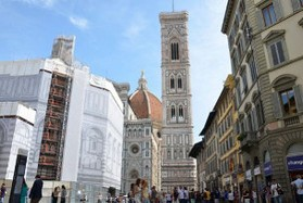 Giotto Bell Tower and Piazza Duomo - Florence Cathedral