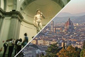 Florence Panoramic Tour by Minivan & Accademia Gallery - Guided Tours