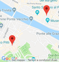 uffizi pitti map