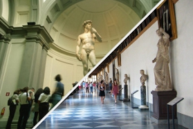 Accademia Gallery + Uffizi Gallery Tour - Guided Tour - Florence