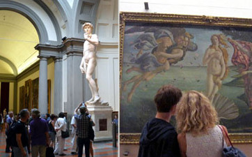 Uffizi Gallery + Accademia Gallery Tour - Guided Tours - Florence Museum